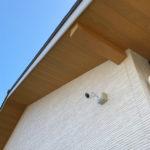 防犯対策、愛知県碧南市、敷地周辺を監視することを目的としたカメラ設置工事が完了。