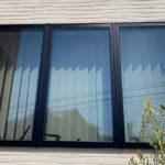 空き巣対策、愛知県日進市での防犯フィルム/窓鍵・電子錠設置工事が完了。