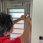 防犯対策、岐阜県関市、窓・玄関・勝手口・2階への防犯リフォーム工事が完了。